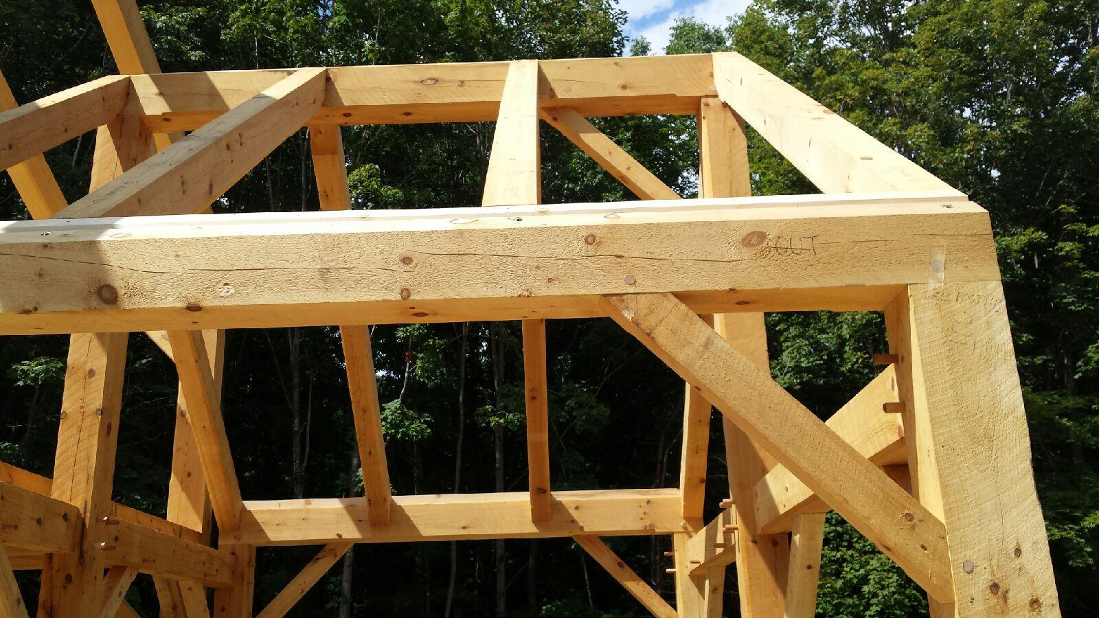 Timber Frame Houses and Barns | Custom timber frame builders